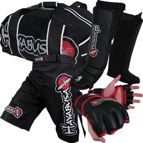 hayabusa 200mph mma gear bundle