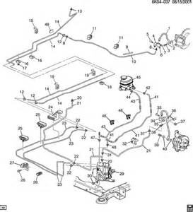 Service Brake System 05 Tahoe 2001 Tahoe Brake Line Diagram Html Autos Weblog