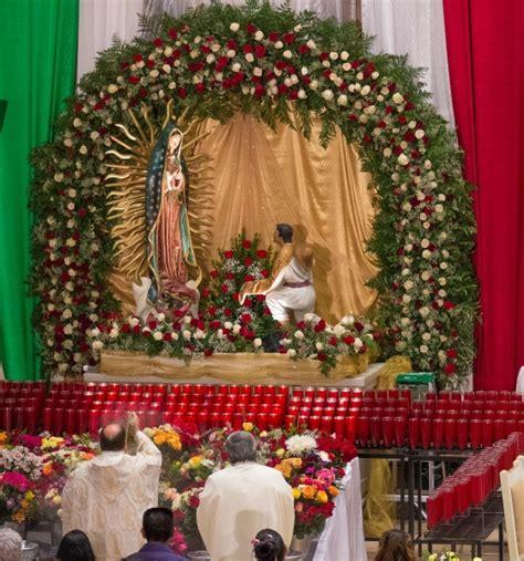 como decorar para la virgen de guadalupe decoracion para altar de virgen de guadalupe cebril com