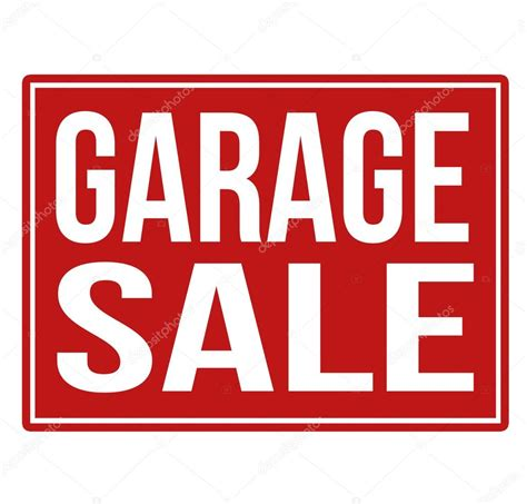 Garage Sale On by Garage Sale Sign Stock Vector 169 Roxanabalint 53669979