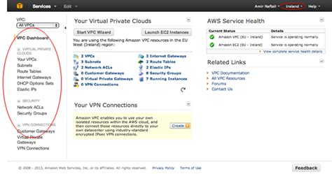 aws admin console interconnecting two aws vpc regions 40cloud