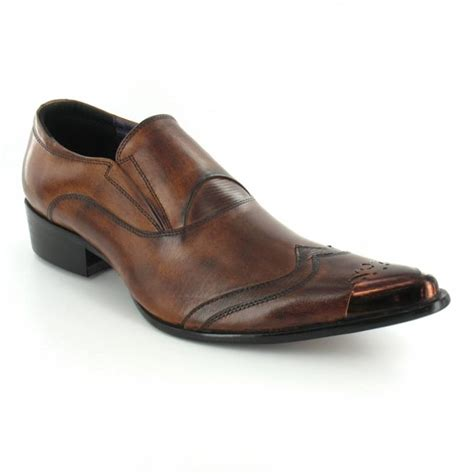 Bradleys Sandl Leather Premium 002 gucinari gucinari jp002 mens premium leather slip on toe cap shoes brown formal