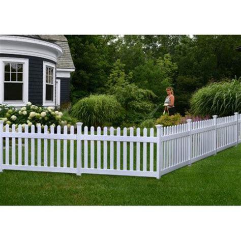 fence walmart zippity outdoor products newport 3 x 5 9 picket yard fence walmart