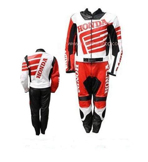 Motorrad Lederkombi F Rben by Honda Motorrad Lederkombi In Schwarz Rot Wei 223 Farbe