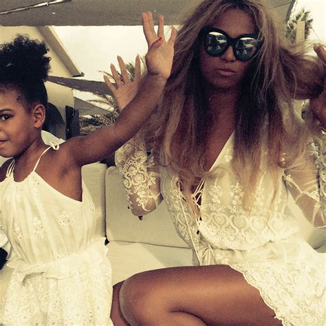 beyonce and blue ivy carter times blue ivy carter acted just like beyonce marie claire