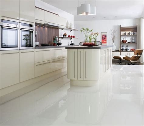 White Tile Kitchen Floor Polished White Floor Tile 163 24 92 M Or Idea Kitchen And Food White