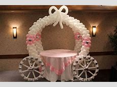 Decoración Princesas | Carruaje de globos | decoración en ... Horario Walmart