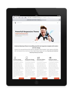 bootstrap themes ipad undecimo bootstrap theme by creativelabs
