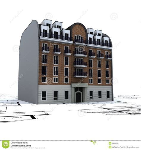 free residential building plans residential building on plans stock photography image