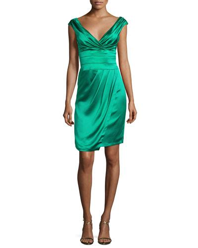 Dress Of The Day Unger Silk Cocktail Dress by Unger Cocktail Dress Neiman