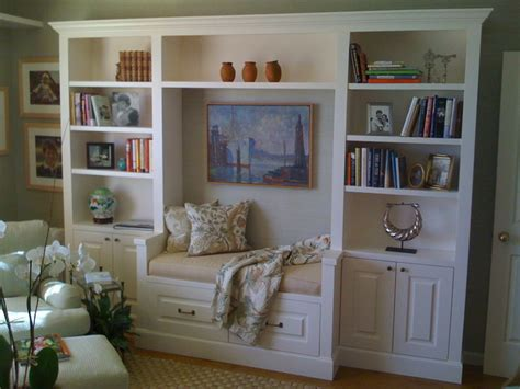 bookshelf seating bench office bookcase and bench seat