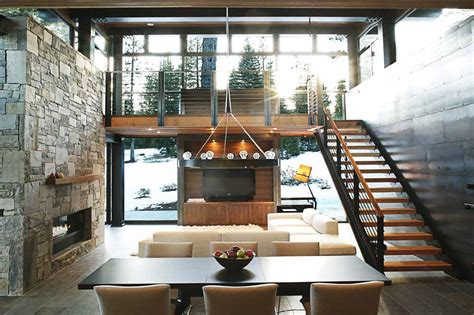 If It's Hip, It's Here (Archives): Marvelous Modern Mountain Home In Truckee, California is a