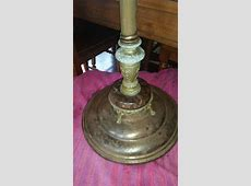 Barn Find Antique Floor Lamp | My Antique Furniture Collection B 29 Inside