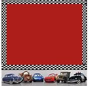 Cars Disney Tarjetas De Invitaci&243n  Imagui