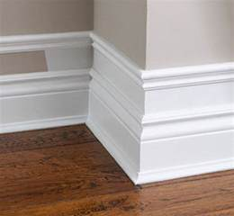trim baseboard diy baseboards molding and trim the budget decorator
