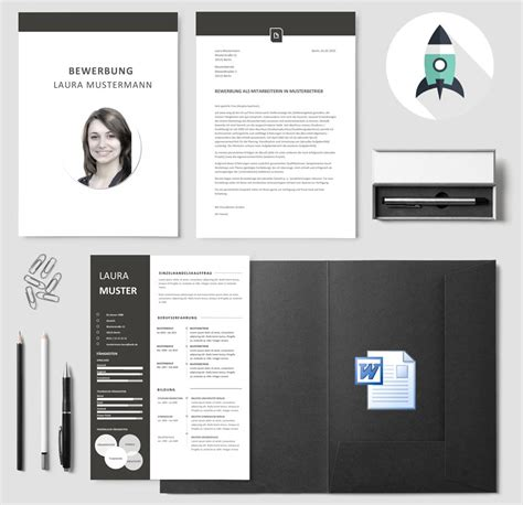 Bewerbungsvorlagen Modern Bewerbungsvorlagen 187 Premiumdesignvorlagen