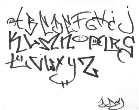 tag graffiti alphabet  berkdangriv