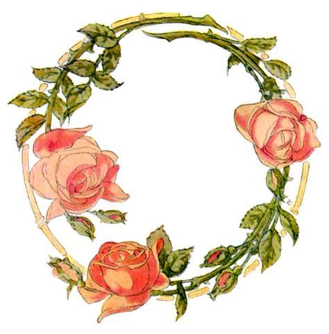 design bunga floral rose flower borders cliparts co