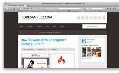 Tutorial Website Codeigniter | awesome tutorials to master codeigniter