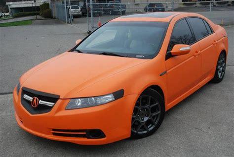 acura tl and tsx matte orange acura tl type s cars acura tl