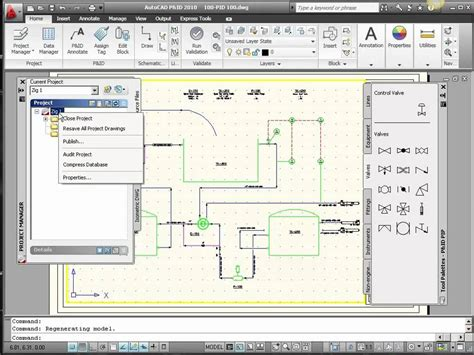Drawing P Id In Autocad by P Id Symbols In Autocad P Id Or Autocad Plant 3d