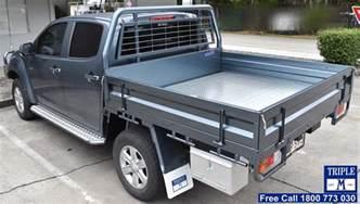 Isuzu Dmax Tray Back Aluminium Ute Tray With Lock Tech M Ute