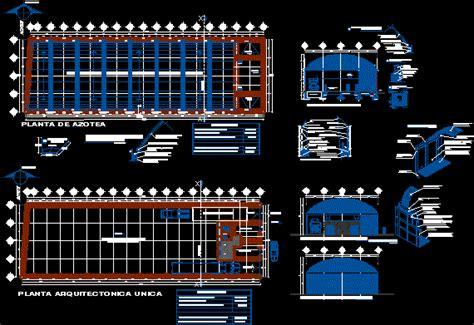 bodega san nicolas dwg full project  autocad designs cad
