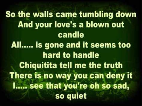 letras de abba letras de canciones de abba chiquitita abba in english youtube