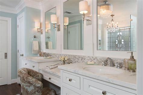 Vanity Ranch by Bathroom Custom Vanity Table Traditional Ranch Remodel