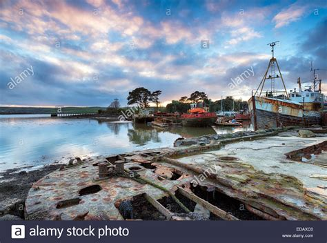 old boat graveyard old abandoned rusting boats in a boat graveyard on the