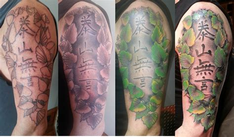stages of a healing tattoo left arm stages left arm idea bank
