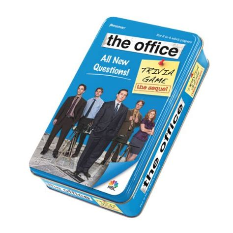 The Office Trivia by The Office Trivia In Tin The Sequel 10 Last