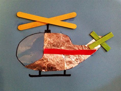 How To Make A Paper Army Helicopter - helicopter picture my kid craft
