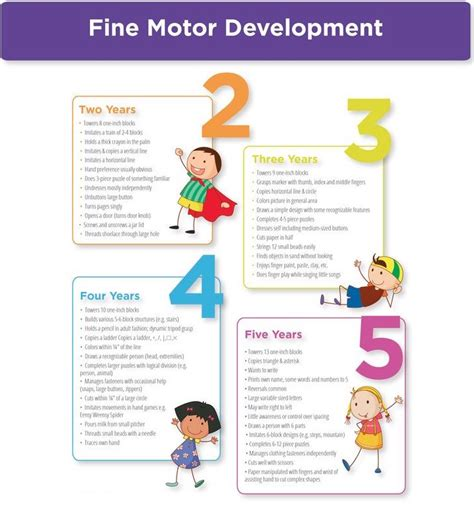 peabody motor development gross motor skills development chart