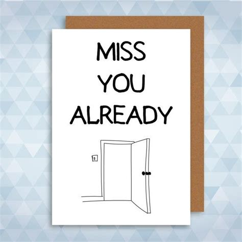 miss you card templates i miss you card new greeting card leaving