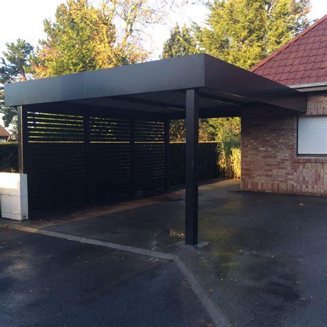 T De Garage by Carport Aluminium Portails A Garage Carport