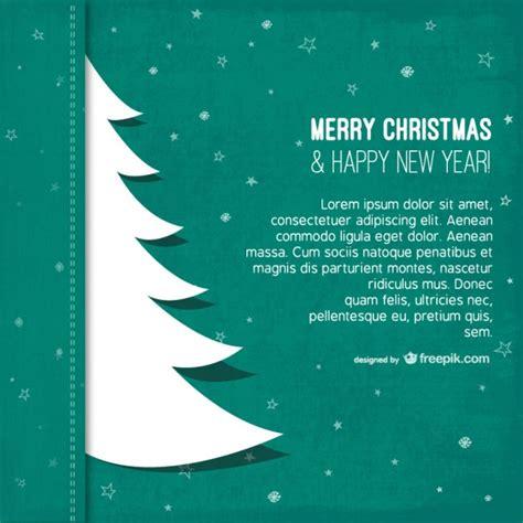 Kostenlose Vorlage Baum weihnachten vorlage mit baum silhouette der