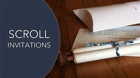 how to make scroll wedding invitations scroll invitations our scroll wedding invitation