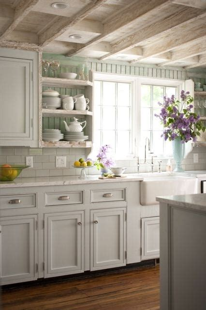Cottage Kitchen Colors by Lovely I The Pale Colors Bhg Cottage