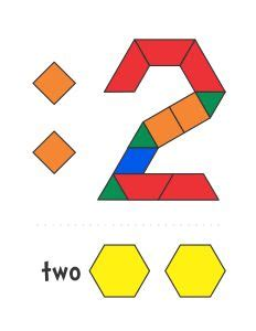 numbers with pattern blocks pattern blocks pattern block templates and number