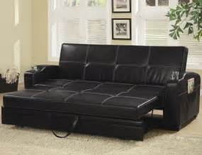 Leather Futon Sofa Click Clack Sofa Bed Sofa Chair Bed Modern Leather