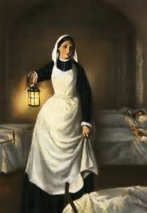 why was florence nightingale called the with the l one day the with the l florence nightingale