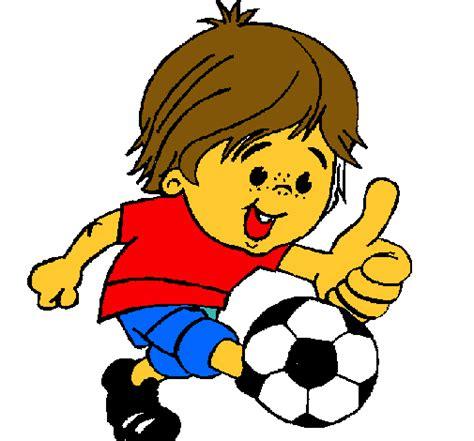 imagenes de niños jugando futbol en caricatura ni 241 os en caricatura jugando futbol imagui