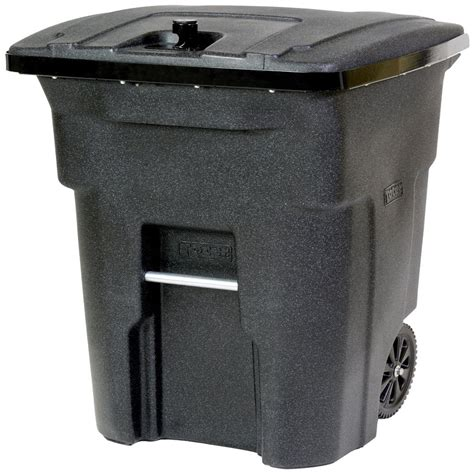 64 gallon trash can shop toter outdoor trash can 64 gallon blackstone plastic outdoor wheeled trash can with lid at