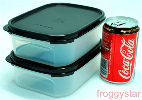 Tupperware Mini Freezermate With Dpt 2 Pcs 1 tupperware mm modular mates mini rectangle i 850ml 2pc set black ebay