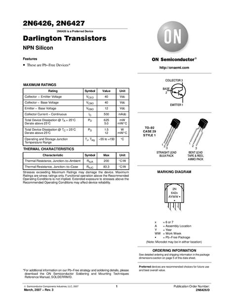 transistor mpsa13 datasheet transistor npn darlington pdf 28 images 2sc372 datasheet pdf pinout silicon npn epitaxial