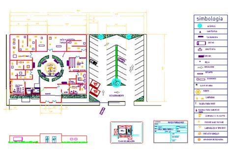 museum floor plan dwg bloques cad autocad arquitectura download 2d 3d dwg