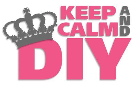 diy logo keep calm do it yourself