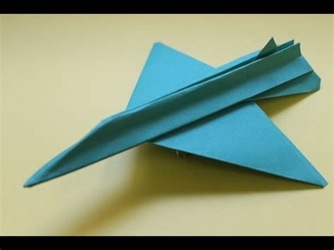How To Make Cool Airplanes Out Of Paper - how to make a cool paper plane origami tsr2