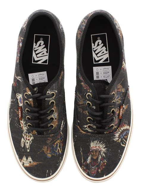 Vans Authentic Tribal vans authentic tribal leaders trainers buy at grindstore